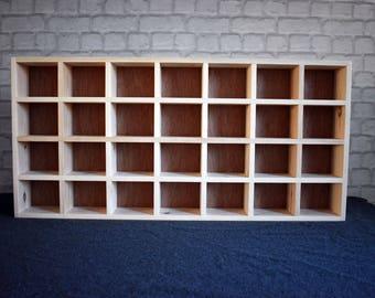 Gentil 28 Compartment Pigeon Hole Shelf, Emma Bridgewater Mug Storage Shelf, Mug  Storage, Pigeon Hole, Cubby Hole Shelf, Storage Unit, Pigeon Holes