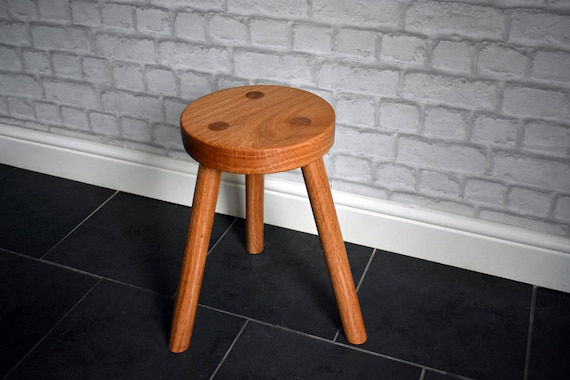 Brilliant Hand Made Solid Oak 3 Legged Stool Oak Seating Stool Traditional Stool Three Leg Stool Oak Stool Small Stool Milking Stool Chair Forskolin Free Trial Chair Design Images Forskolin Free Trialorg