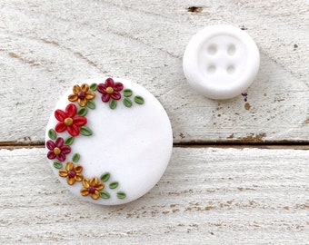 A hint of Christmas magnetic needle minder, needle holder, cross stitch gifts, gift for her