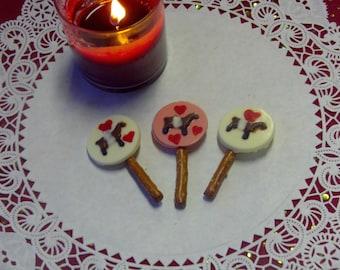 6 Buttermilk Sky Valentine's Pretzel Pops