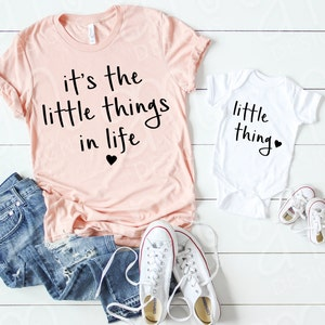 Mommy And Me Outfits To Be SVG Little Things In Life Svg Files For Cricut Mom Gift Baby