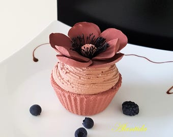 Cupcakes, Realistic Fake Cupcakes,Fake Cupcake for Kitchen Decoration,Shower favour,Display Dessert