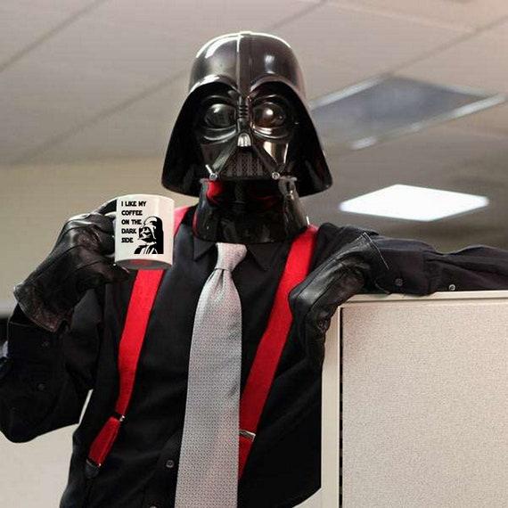 Darth Vader Coffee Mug Funny Star Wars I Like My Coffee On The Etsy