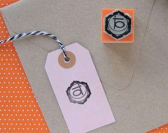 Sacral Chakra Stamp. Chakra Stamp. Chakra Rubber Stamp. Chakra Symbol. Second Chakra Stamp. Orange Chakra Stamp. Svadhisthana Chakra Stamp.