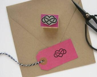 INFINITE LOVE Stamp. Heart Infinity Stamp. Infinite Stamp. Infinity Stamp. Mathematics Stamp. Geometry Stamp. Philosophy Stamp.