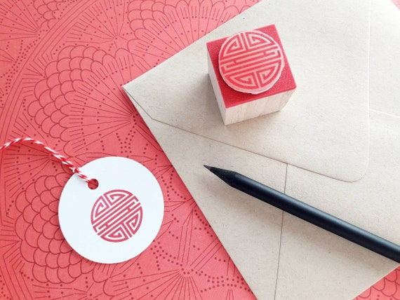 Wedding Rubber Stamping.Shou Rubber Stamp Shou Character Stamp Longevity Symbol Rubber Stamp Chinese Character Stamp Chinese Rubber Stamp Wedding Rubber Stamp