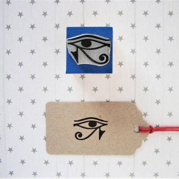 Eye Of Ra Stamp Ra Eye Stamp Eye Of Ra Ra Eye Right Eye Etsy