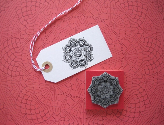 Yoga Bullet journal Bullet journal Stamp Version 3 MANDALA Stamp Wedding Rubber Stamp Yoga diary stamp Lotus Flower Mandala Stamp