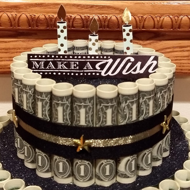 Money Cake Birthday S Congratulations Engagement Retirement Honor Awards Promotion Patriotic Party Great For Any Special Occasion