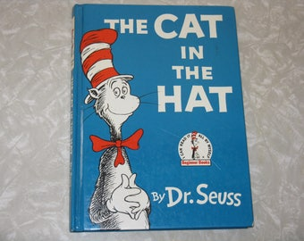 1957 the cat in the hat book by dr seus