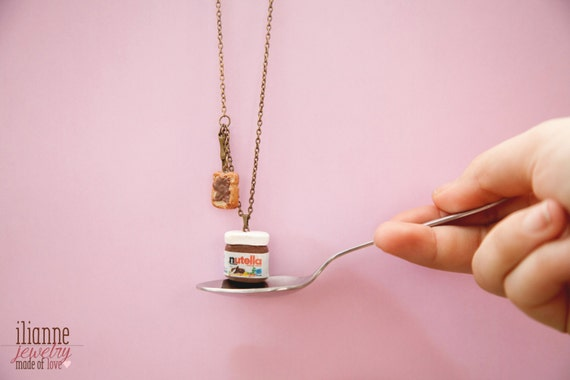 Nutella Inspired Pendant