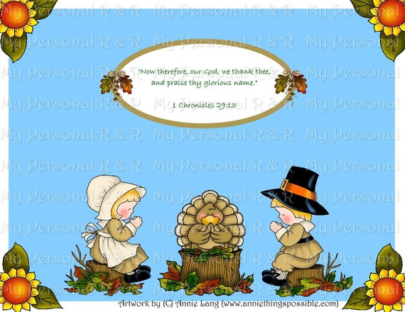 Religious Thanksgiving Bulletin Board In A Bag Etsy