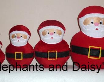 Santa Stuffies Embroidery design file