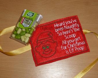 Elf Poop Embroidery design file