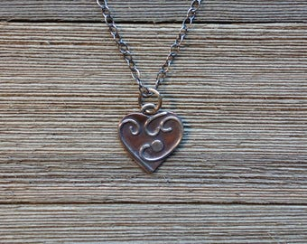 Whimsical Heart Valentine Necklace