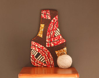 Small Project Bags for Knitters - Knitting Organiser - Knitting Commuter Bag - Yarn Holder Bag Small