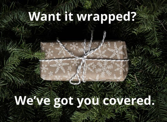 Service d'emballage cadeau