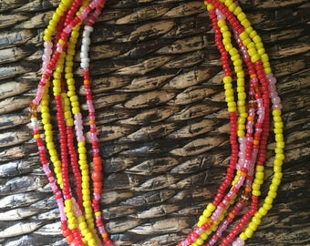 Waist Bead Set of 3....Candy Inspired Colors