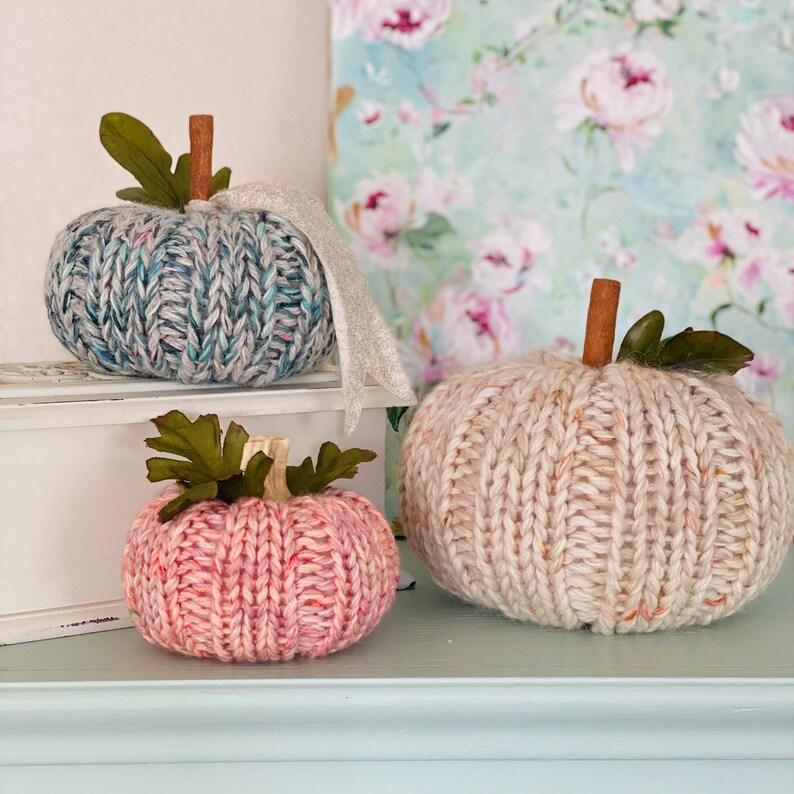 Sugar Baby Pumpkin Knitting Pattern image 0