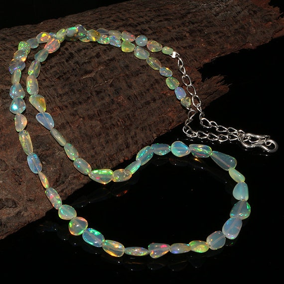 Natural Ethiopian Smooth Opal Loose Beads Drilled Rondelle Opal Beads DDL1117