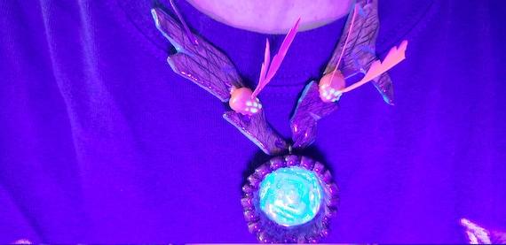 Purpleheart Wood \u201cTeardrop Collection\u201d-Unique Beautiful grain-Memory-handmade wlove-Minimalist-Boho Chic