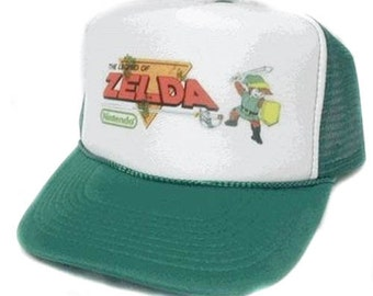 713c2b5271886d Legend of Zelda Trucker Hat Mesh Hat Snap Back Hat CHOOSE COLOR hat!  adjustable one size fits most new