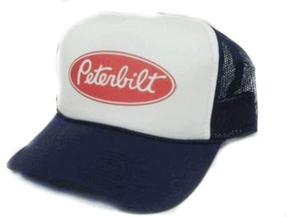 Peterbilt trucks hat Trucker Hat Mesh Hat Snap Back Hat YOU  3469801e353