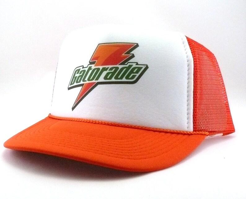 Gatorade hat trucker hat mesh hat snapback hat new adjustable  22176a9dcca0