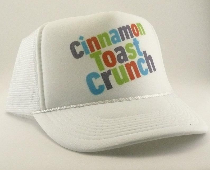 Cinnamon Toast Crunch Trucker Hat Mesh Hat Snapback Hat new  2b81af44efbd