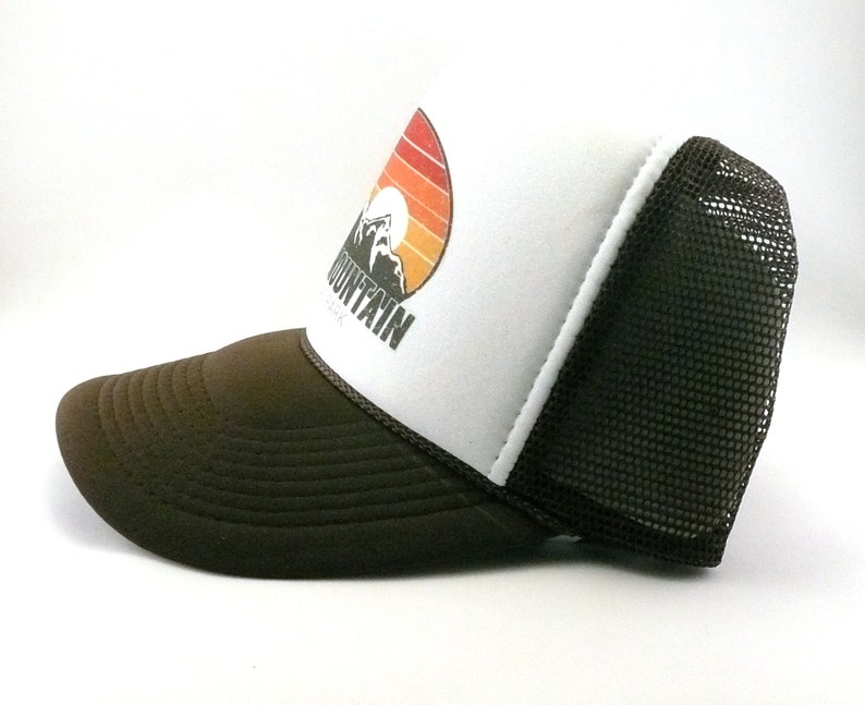 210e8d96 Rocky Mountain National Park Colorado Trucker Hat mesh hat | Etsy