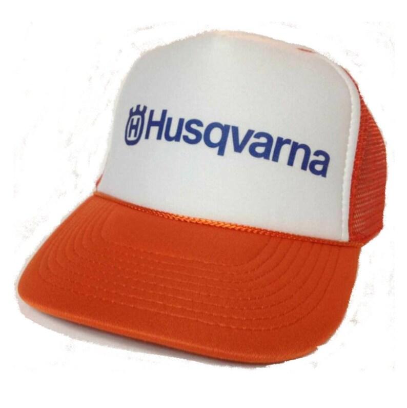 f6799324d1a Husqvarna Trucker Hat Mesh Hat NEW Adjustable one size fits