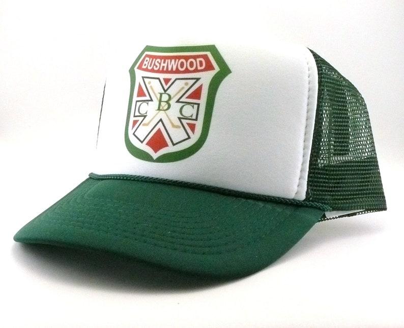 cbfb0800d2e Bushwood Country club Trucker Hat Mesh Hat Snap Back Hat