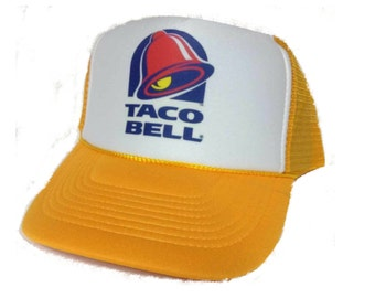 Taco Bell Trucker Hat Mesh Hat NEW Adjustable one size fits most pick color mesh