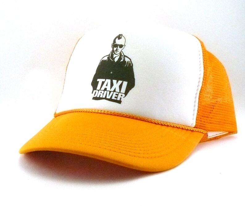 1516a91f2ef Taxi driver Trucker Hat Mesh Hat Snapback Hat new adjustable
