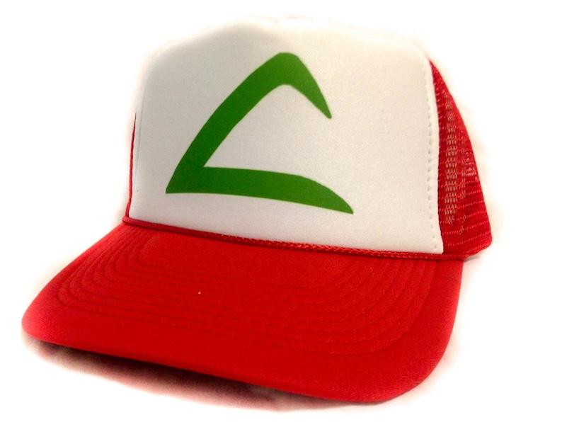 acf73566 Pokemon hat ASH KETCHUM hat Pokémon famous red hat fast | Etsy