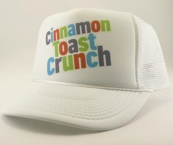 637e3255b32 Cinnamon Toast Crunch Trucker Hat Mesh Hat Snapback Hat new