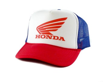 Honda hat Trucker Hat Mesh Hat  Snap Back Hat rwb