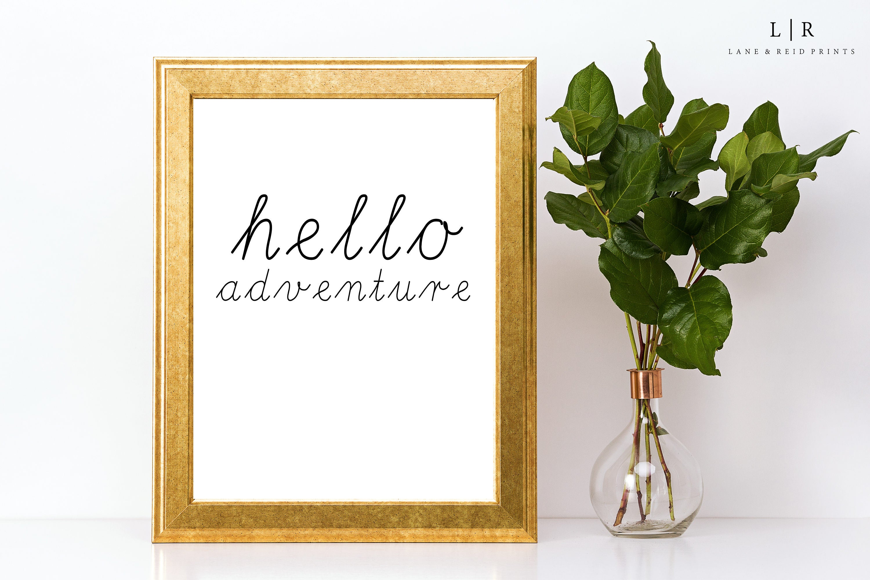 hello adventure. printable quotes. positive quotes. | etsy