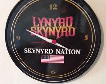3ea20e29a8f8 Lynyrd Skynyrd - Skynyrd Nation - Wall Clock - Original - 12 inch Laminated  Face   Ronnie VanZandt   Free Poster   Priority Mail   Free Bird