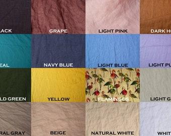 Linen samples