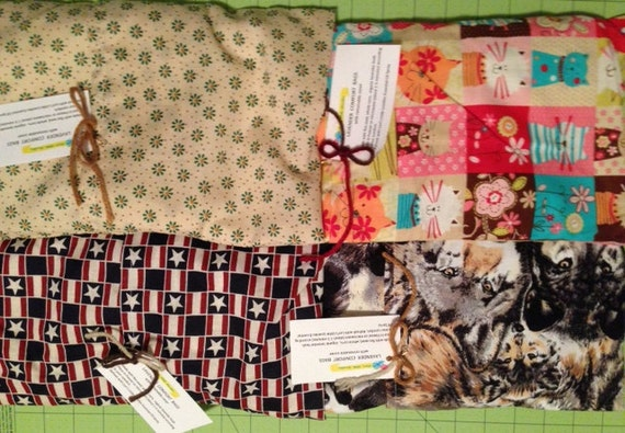 Lavender Aromatherapy Comfort Bags.