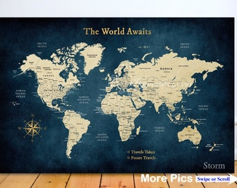 Personalized Us Map.Us Travel Map Etsy