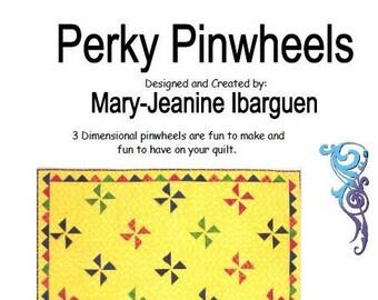 Perky Pinwheels PDF Pattern