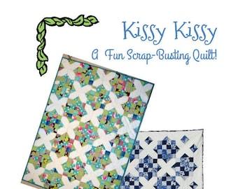 Kissy Kissy Quilt PDF Pattern