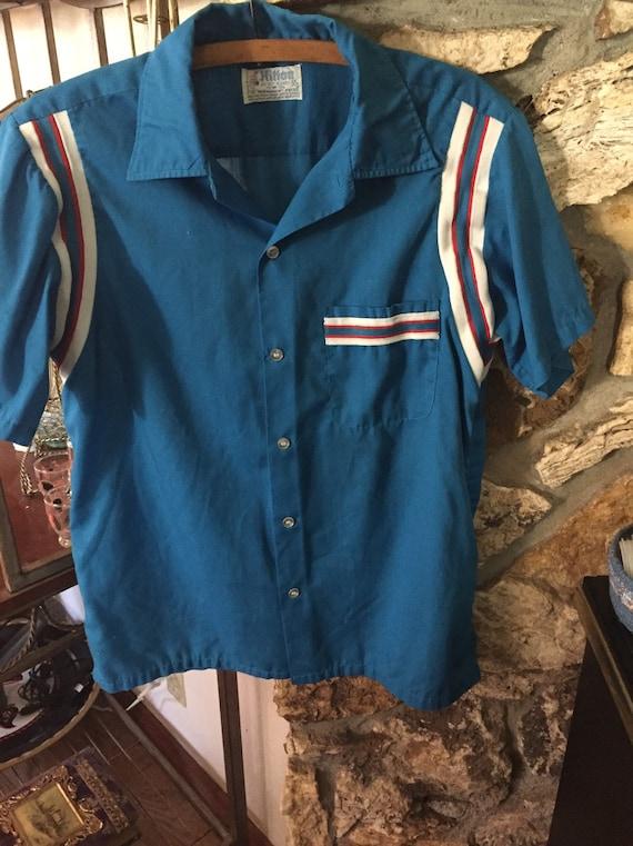 Vintage Hilton Bowling Shirt Grants Pass Courier B