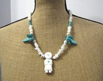 Kachina Doll with Turquoise
