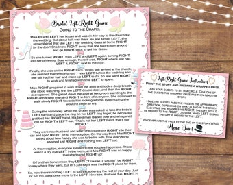left right bridal shower game printable instant print wedding ornaments left right bridal shower game instant download party game