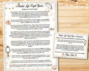 yes i do left right bridal shower game printable instant print left right wedding bridal game instant download party game