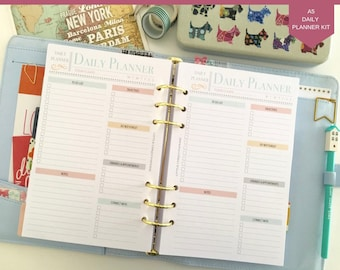 printable daily planner etsy
