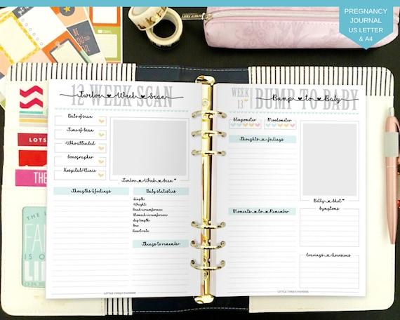 Free Printable Pregnancy Journal Pdf